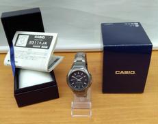 CASIOソーラー電波ビジネス腕時計|CASIO