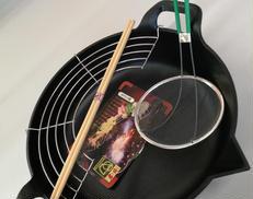 南部鉄器 天ぷら鍋|岩鋳