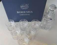 デキャンタ・グラス6点セット|BOHEMIA