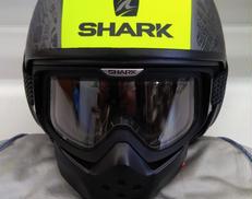 ジェットヘルメット 2018年製 使用品 Lサイズ SHARK