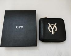 2つ折りラウンドファスナー財布|OY
