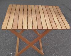 折りたたみウッドテーブル|JATI