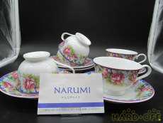 カップ&ソーサー5客セット|NARUMI