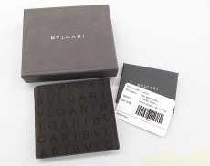 ロゴマニア二つ折財布|BVLGARI
