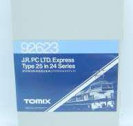 NゲージJR24系25形特急寝台客車トワイライトエクスプレス|TOMIX