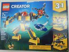レゴクリエイター 海底調査ロボ|LEGO