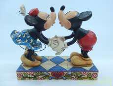 ミッキー&ミニー 置物 ディズニー