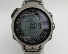 ソーラー電波腕時計|CASIO PROTREK