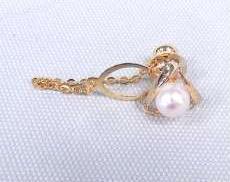 ラペルピン(ピンのみK18)|宝石付きカフス