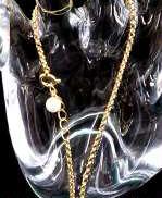 金|宝石付きブレスレット
