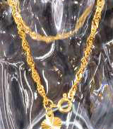 金|宝石無しブレスレット