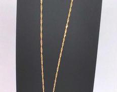 K18ネックレス|宝石付きネックレス