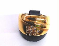 K18リング 宝石付きイヤリング