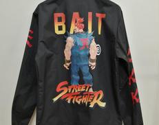 ナイロンジャケット BAIT × STREET FIGHTER