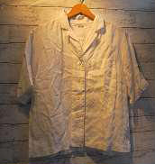 半袖リネンシャツ|MARGARET HOWELL