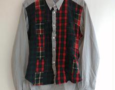 パッチワークシャツ|COMME DES GARCONS HOMME