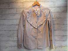 ハートフリルチェックシャツ VIVIENNE WESTWOOD RED LABEL