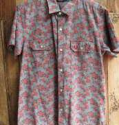 総柄ショートスリーブシャツ|FRED PERRY