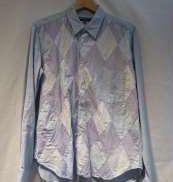 アーガイルロングスリーブシャツ|COMME DES GARCONS SHIRT