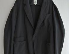 ガーメントダイポリエステルラミー1Bジャケット|MANDO