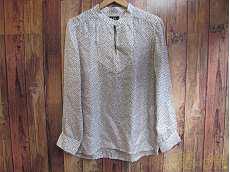 ドットシルクシャツ|APC