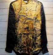 レーヨンバンドカラーシャツ|DRIES VAN NOTTEN