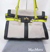 レザーハンドバッグ MAX MARA
