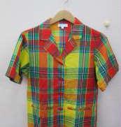 ダブルポケットチェックシャツ|AGNES B.