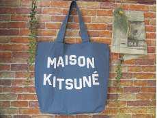トートバッグ MAISON KITSUNE