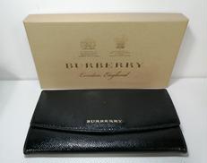 【BURBERRY】パテント長財布|BURBERRY