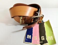 【MSGM】タグ付き美品 レザーベルト|MSGM
