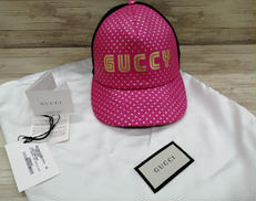 GUCCYロゴキャップ|GUCCI