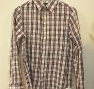 コットンチェックシャツ A.P.C