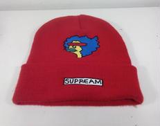デザインニット帽 SUPREME