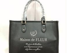 マテリアル合皮トートバッグ|MAISON DE FLLEUR