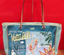 ビーチ刺繍トートバッグ|ANYA HINDMARCH
