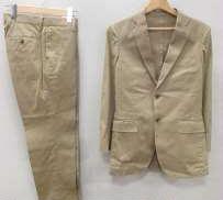 チノ素材2Bテーラードジャケット&スラックスセットアップ|SHIPS