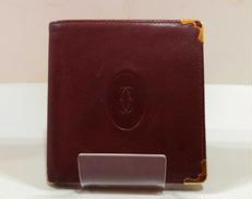 レザー折り財布|CARTIER