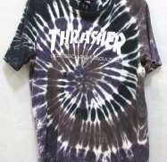 タイダイ柄Tシャツ THRASHER
