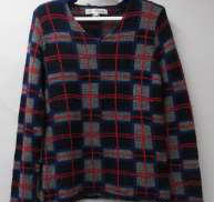 チェックニットセーター|COMME DES GARCONS SHIRT
