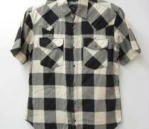 ハーフスリーブチェックシャツ|SCHOTT
