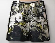 シルク花柄スカート PRADA
