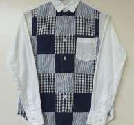 パッチワークシャツ|COMME DES GARCONS SHIRT