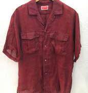 S/Sオープンカラーリネンシャツ|kenzo