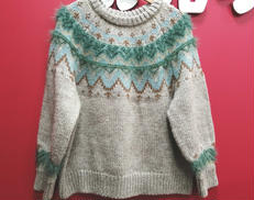 フェアアイル柄セーター|KBF