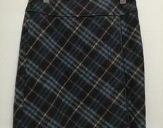 ウールスカート BURBERRY BLUE LABEL
