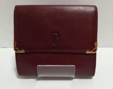 三つ折り財布|CARTIER
