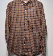 BDチェックシャツ/M|STEVEN ALAN