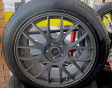 18インチのタイヤセット BRIDGESTONE RAYS