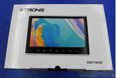 美品 XTRONS 車内用液晶モニター HD116HD|XTRONS